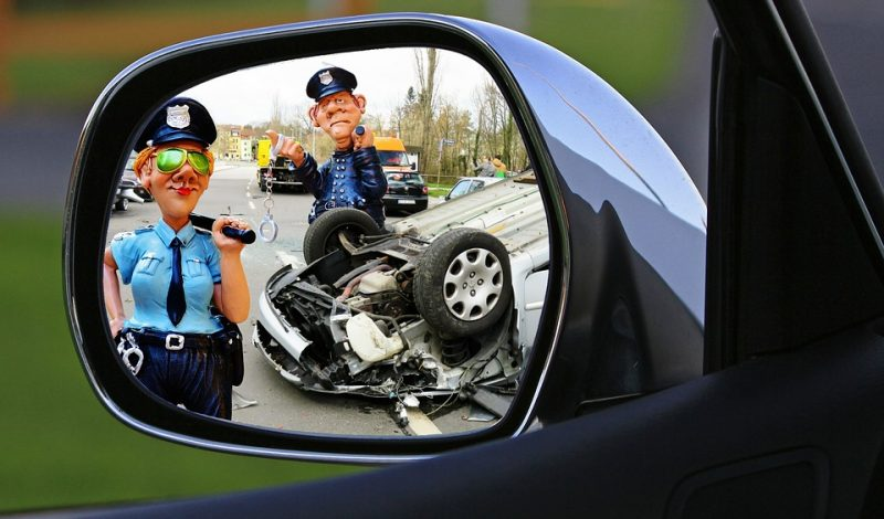 Irreparable Losses Caused Due to Reckless Driving!