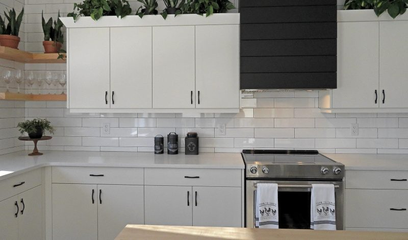 Ice White Kitchen Cabinets, Trend for 2020